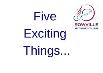 Five Exciting Things_1
